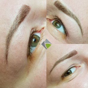 Permanent Make-Up der Augenbrauen
